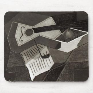 Guitar and Fruit bowl, 1926 Mouse Mat