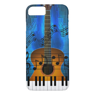Guitar and Keyboard Music iPhone 7 Case