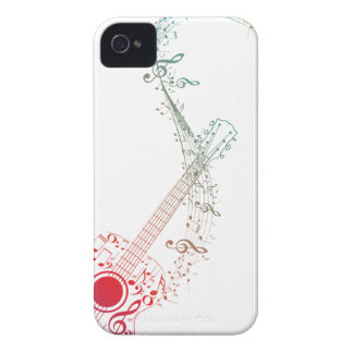 Guitar and Music Notes 6 iPhone 4 Case-Mate Case