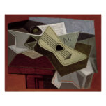 Guitar and Newspaper, 1925 Posters
