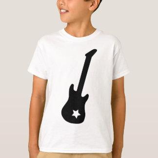 Guitar and Star Tshirt
