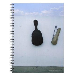 Guitar and Violin Case 2 Notebooks