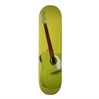 Guitar art print 20.6 cm skateboard deck