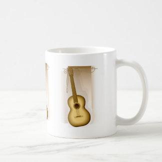 Guitar Basic White Mug