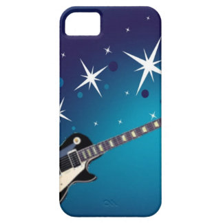 Guitar - blue iPhone 5 cover