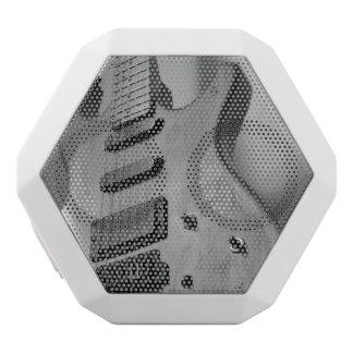 guitar white boombot rex bluetooth speaker