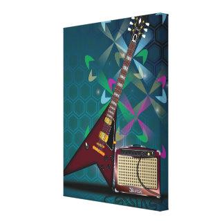 Guitar Canvas Prints