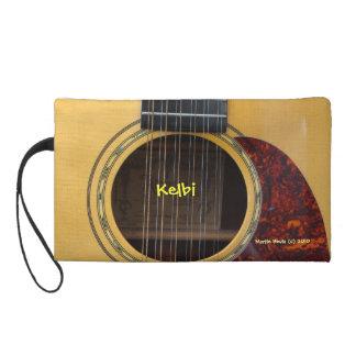Guitar - Cell Phone Bag Wristlet Clutch