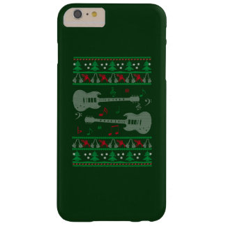 Guitar Christmas Barely There iPhone 6 Plus Case