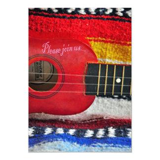 Guitar Cinco De Mayo Invitation