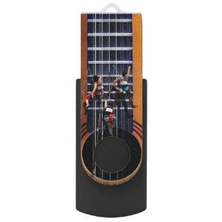 Guitar Climbers USB Flash Swivel USB 3.0 Flash Drive