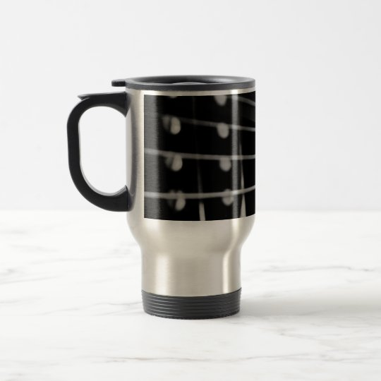 Guitar coffee mug