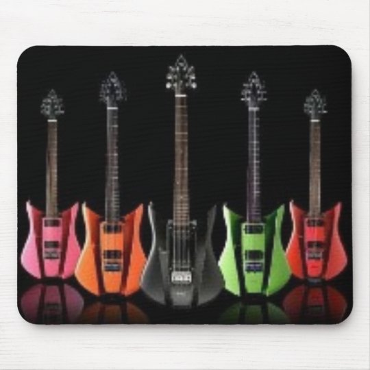 Guitar Collection Mouse Mat