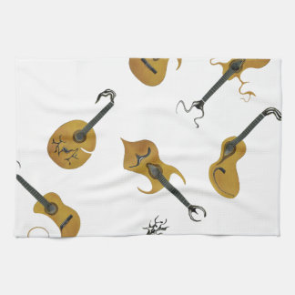 Guitar Collection Tea Towel