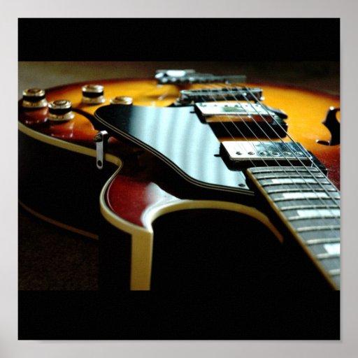 Guitar - Customized Poster