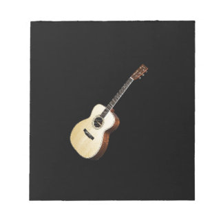 """""""Guitar"""" design gifts and products Notepad"""