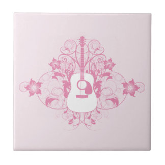 Guitar Design Tile