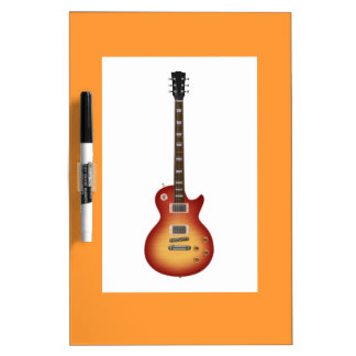 Guitar Dry Erase Whiteboards