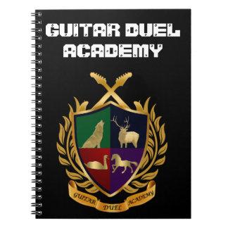 Guitar Duel Academy Notebook