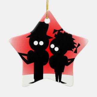 Guitar Duo Christmas Ornament