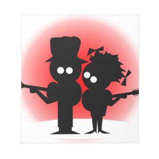 Guitar Duo Notepad