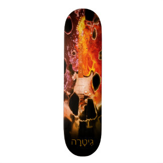 Guitar Eruption Skate Board Decks