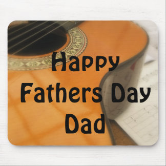 Guitar Fathers Day Gift Mouse Mat