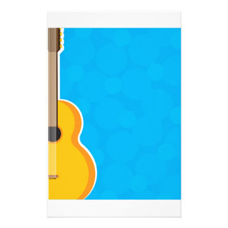 Guitar Frame Personalised Stationery