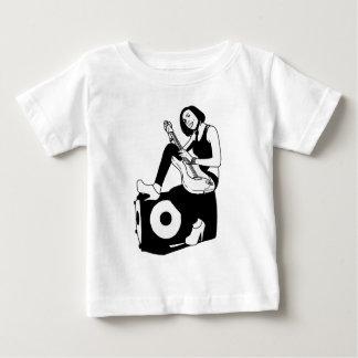 Guitar girl baby T-Shirt