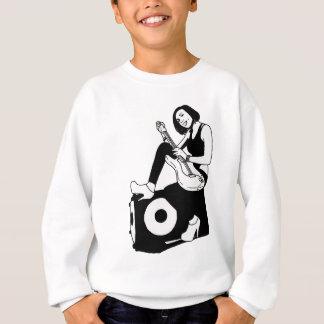 Guitar girl sweatshirt