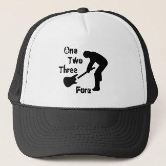 Guitar Golf Trucker Hat