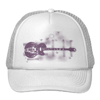 Guitar Graphic Pur Hat