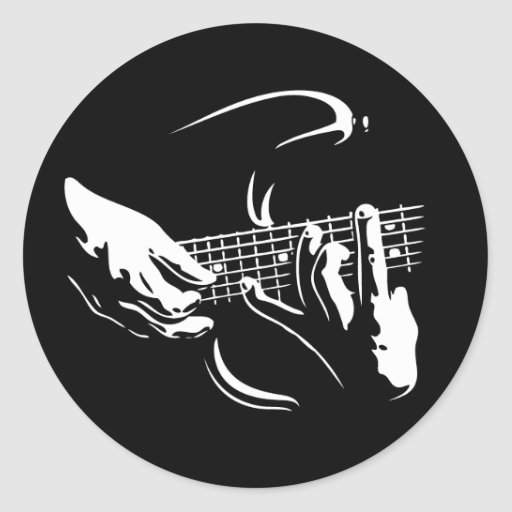 guitar-hands-DKT Stickers