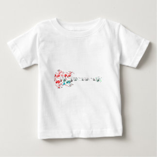 Guitar Hands Graffiti Baby T-Shirt