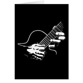 Guitar Hands II Greeting Card