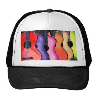 Guitar Hat Multicolored