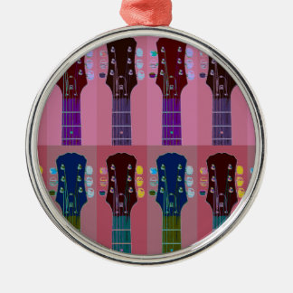 Guitar Headstock Pop Art Christmas Ornament