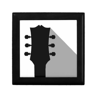 Guitar Headstock With Shadow Gift Box