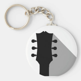 Guitar Headstock With Shadow Key Ring
