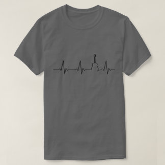 Guitar Heartbeat | Guitarist | T-Shirt