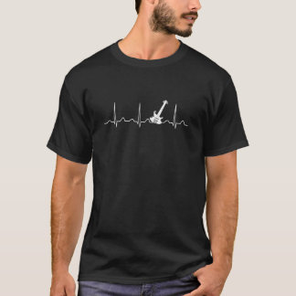 GUITAR HEARTBEAT T-Shirt