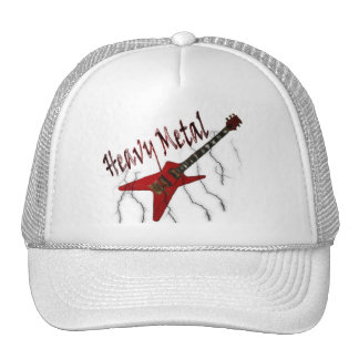 Guitar Heavy Metal Cap