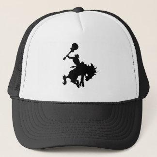 Guitar Hero rodeo cowboy on horseback Trucker Hat