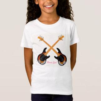 Guitar image for Girl's T-Shirt