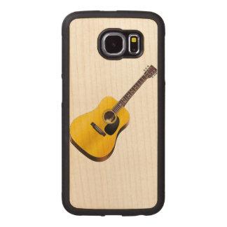 Guitar Image Wood Case iPhone 6 Plus Case