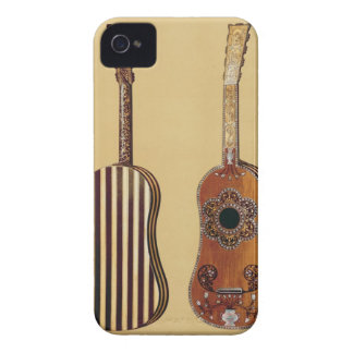 Guitar inlaid with mother-of-pearl, from 'Musical iPhone 4 Case-Mate Cases