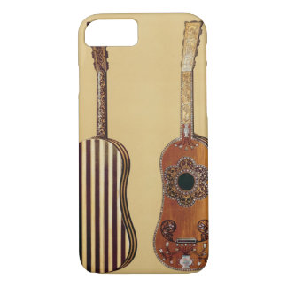 Guitar inlaid with mother-of-pearl, from 'Musical iPhone 8/7 Case