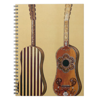 Guitar inlaid with mother-of-pearl, from 'Musical Notebooks