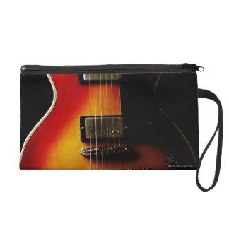 Guitar Instruments Wristlet Purses