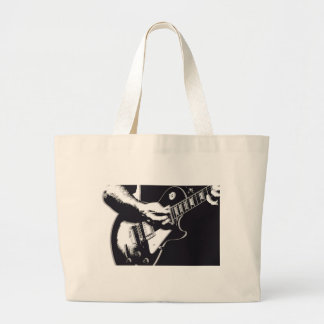 Guitar Large Tote Bag